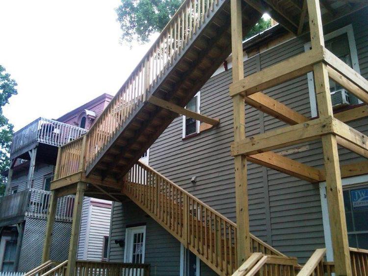 A d peterson decks for 3 story deck