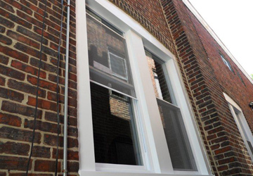 Window replacement and exterior wrapping