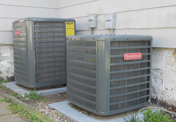 New air conditioning condensor units